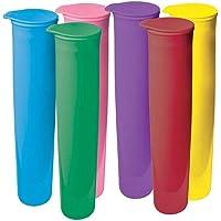 Avanti 12690 Push Up Ice Block Moulds 6-Pieces Set, Assorted Colours