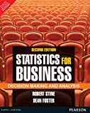 Statistics for Business: Decision Making and Analysis (2nd Edition) [Paperback]