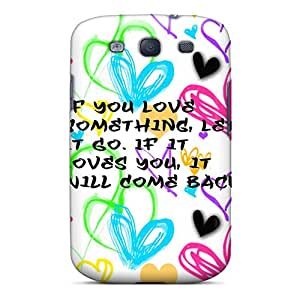 New Arrival Case Cover With XaozyYX2699PyNRo Design For Galaxy S3- Love U