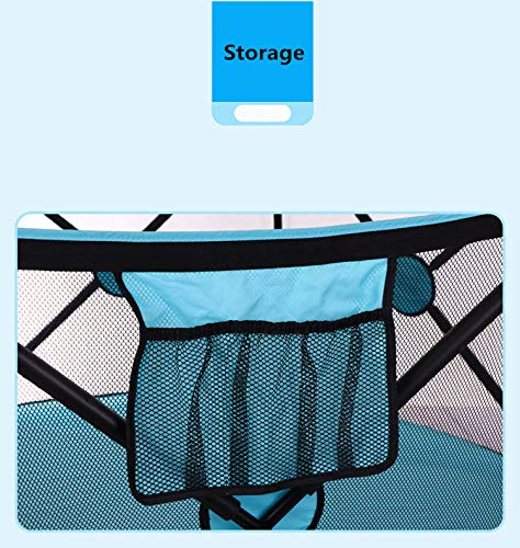 Portable Playard Indoor and Outdoor with Carry Case and Washable, 6-Panel by Cshxsfz (Image #2)