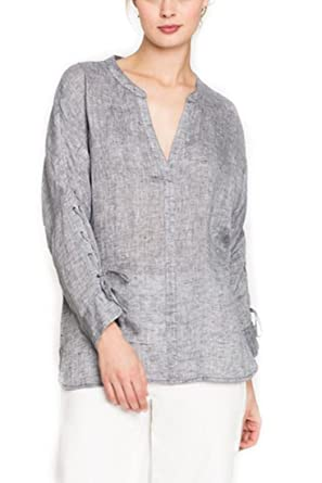000ddb1a407 NIC+ZOE Women s Cliff View Top - Ink at Amazon Women s Clothing store