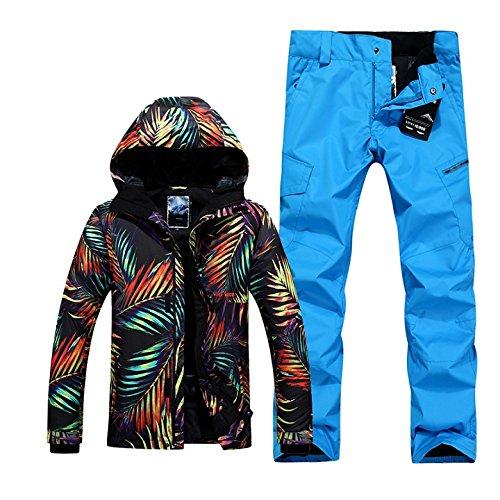 YFF Los hombres de ski y snowboard impermeables traje ...