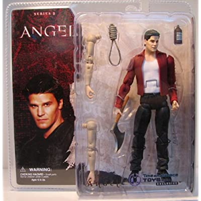 Buffy The Vampire Slayer: '50s Angel Action Figure: Toys & Games