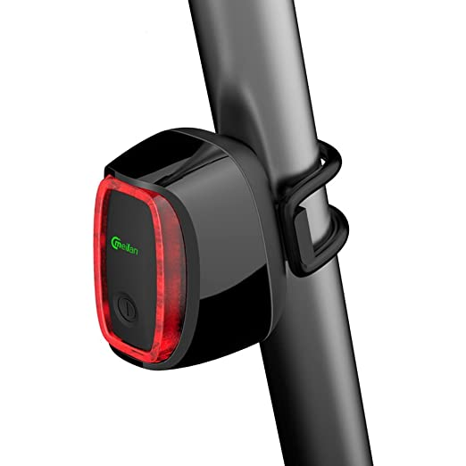 59 opinioni per Intelligente Luce Posteriore per Bicicletta, X6 USB Fanale Lampada Coda