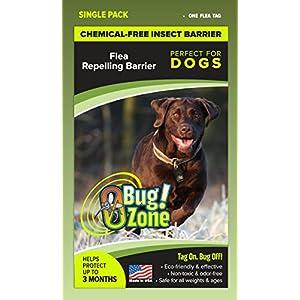 0Bug!Zone Dog Flea Barrier Tag, Single Pack 65