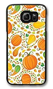 Autumn Harvest16 Polycarbonate Hard Case Cover for Samsung S6/Samsung Galaxy S6 Black