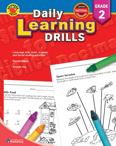 Daily Learning Drills Grade 2 - Activities Child Learning Brighter