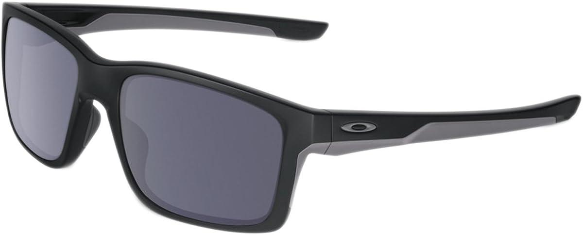 Oakley Sonnenbrille Mainlink, Gafas de Sol para Hombre, Negro (Matte Black), 57
