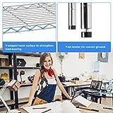 6 Shelf Wire Shelving Unit NSF Garage Storage