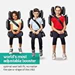 Hifold by Mifold – High Back Travel Car Booster Seat – Safe and Portable Folding Child Car Seat – Adjustable for Growing…