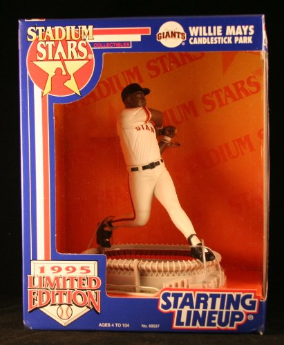 1995 Limited Edition Willie Mays MLB Stadium Star Starting Lineup