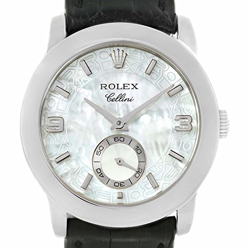 Rolex Cellini mechanical-hand-wind mens Watch 5240/6 (Certified Pre-owned) (Hand Rolex Watch)