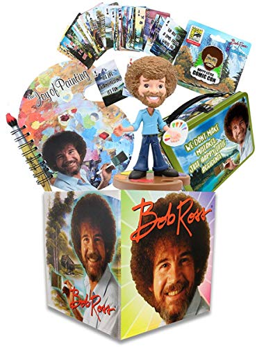 Toynk Bob Ross Collectibles | Looksee Collector's Box | Pin | Lunch Box | More ()