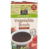 365 Everyday Value Organic Vegetable Broth Low Sodium, 32 oz