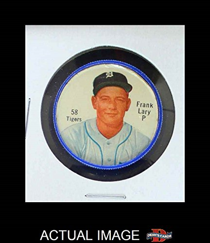 1962 Salada Coins # 58 Frank Lary Detroit Tigers (Baseball Card) Dean's Cards 2 - GOOD Tigers