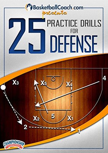 BasketballCoach.com presents: 25 Practice Drills for Defense ()