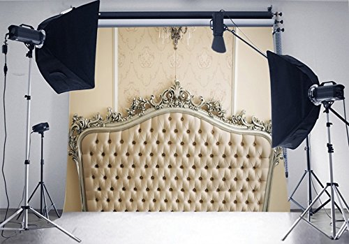 7x5ft bed headboard photo backdrop High-grade portrait cloth Computer printed party Background DD-XT-2245 by Tommy backdrop (Image #2)