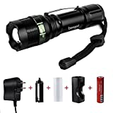 Flashlights,800 Lumen Handheld Light Ultra Bright Tactical Light Torch 5-Mode,Tactical Flashlights Led