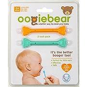 oogiebear Baby Nasal Aspirator - Orange and Seafoam