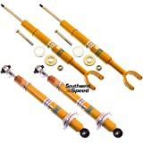 NEW BILSTEIN FRONT & REAR SHOCKS FOR 96-01 AUDI, GAS SHOCK ABSORBERS, 1996 1997 1998 1999 2000 2001 AUDI A4 QUATTRO BASE