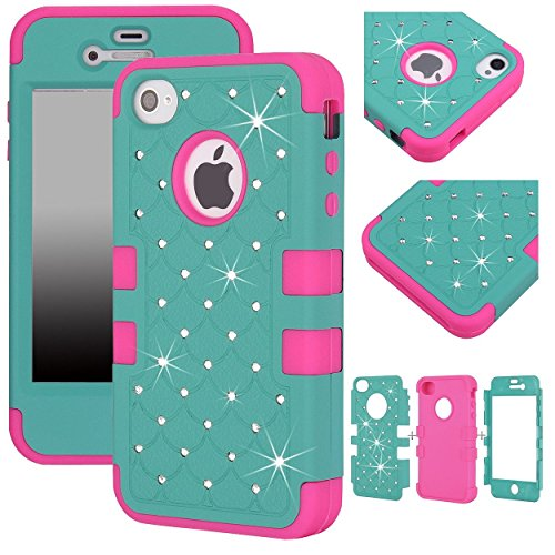 iphone 4s case bling crystal - 7
