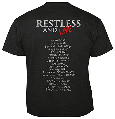 Black amp; T Restless Live Accept shirt zCqFTXw