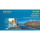 bikeline Radtourenbuch, Radatlas Kärnten; Hohe Tauern, Karnische Region, Nockberge, Drau, Kärntner Seen, wetterfest/reißfest