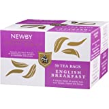Newby Teas English Breakfast Box of 50 Enveloped Teabags
