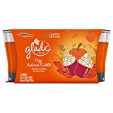 Glade 2 Piece Jar Candle Air Freshener, Cozy Autumn Cuddle, 6.8 Ounce (Pack of 6)