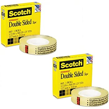 how to use scotch double sided tape dispenser