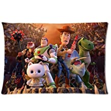 Bedroom Decor Custom The Time Forgot Toy Story Pillowcase Soft Zippered Throw Pillow Cover Cushion Case Covers Fasfion Design Two Sides Printed 20x26 Inches