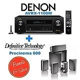 Denon AVR-X1100W 7.2 Channel Full 4