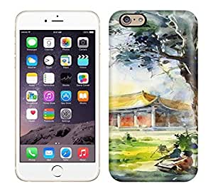 New Arrival Oil Painting With Quite World Case Cover/ 6 Iphone Case by runtopwell