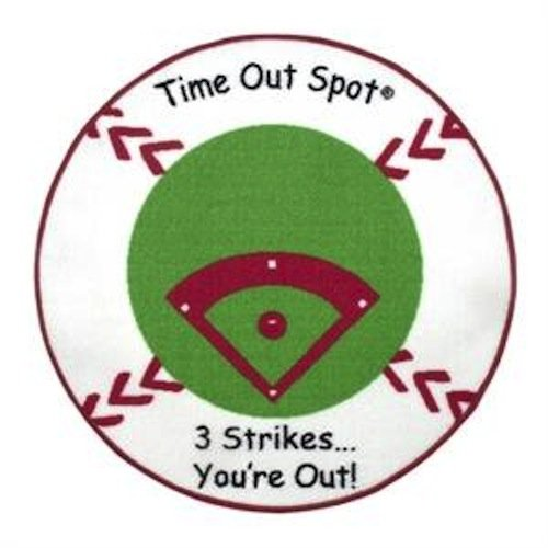 Child to Cherish Time Out Spot Rug, Baseball