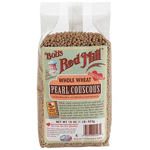 Bobs Red Mill Couscous Pearl Whole Wheat, 16 oz