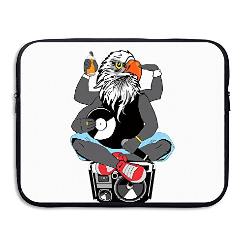 Eagle DJ Water Repellent Laptop Case Bags Printed Ultrabook Briefcase Sleeve Bags Cover For Macbook Pro/Notebook/Acer/Asus/Lenovo Dell 15 Inch