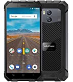 """Ulefone Armor X - 5.5"""" HD (18:9 ratio) IP68 Waterproof / Shockproof / Dustproof 4G Android 8.1 Smartphone, 5500mAh battery (support wireless charge), 1.5GHz Quad Core 2GB + 16GB. 8MP + 13MP, Face ID/GPS/NFC - Black"""