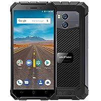 "Ulefone Armor X - 5.5 ""HD (relación 18: 9) IP68 Impermeable Antipolvo Antigolpes 4G Android 8.1 Smartphone, 5500mAh batería (carga inalámbrica de soporte), 1.5GHz Quad Core 2GB + 16GB. 8MP + 13MP, Face ID / GPS / NFC - Negro"