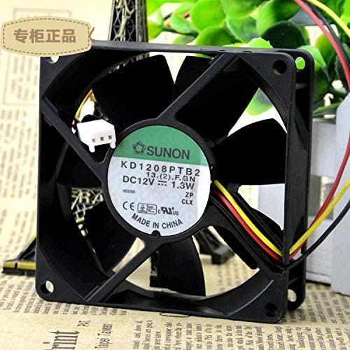 FOR SUNON Jianzhun 8025 Double Ball 8cm8 cm Chassis Fan 12V KD1208PTB2
