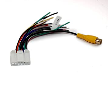 51Xf5NP2KeL._SX355_ amazon com asc audio car stereo wire harness for pyle audio 24 power acoustik ptid-7002nrb wiring diagram at edmiracle.co