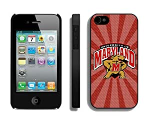 linJUN FENGBest Iphone 4/4s Case Cover Ncaa Maryland Terrapins 09 Cellphone Protector
