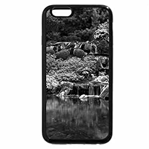 iPhone 6S Case, iPhone 6 Case (Black & White) - water