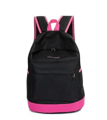 861241ba9f5c リュック バックパック 通勤 通学 カジュアル シンプル アウトドア ブラック ピンク 黒 桃 バッグ かばん カバン 鞄