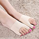 Facial Bones Muscles - Size: S 1pair Elastic Hallux Valgus Shoe Pad Corrector Toes Foot Pain Relief Restore Sleeves by STCorps7
