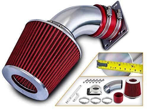 Rtunes Racing Short Ram Air Intake Kit + Filter Combo RED For 98-01 Ford Ranger / 98-01 Mazda B3000 3.0L V6