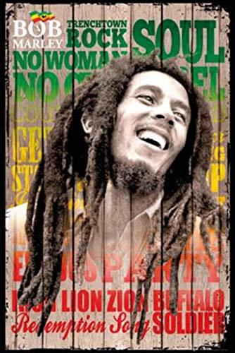 Bob Marley - Laugh Poster (24x36) PSA033837