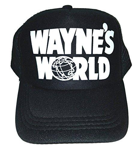 Toddler Kid's Wayne's World Halloween Mesh Trucker Hat Cap 3-7 Costume - Wayne And Garth World Costumes