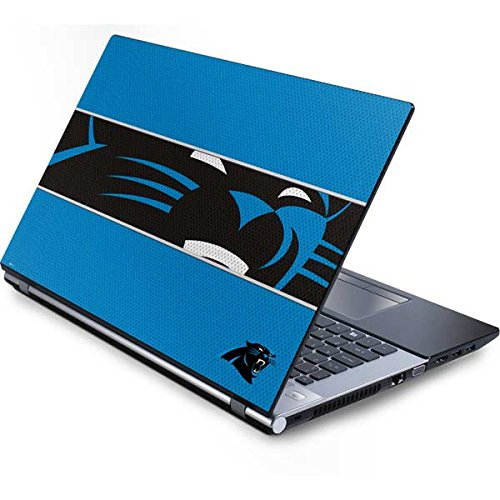 Skinit Carolina Panthers Zone Block Generic 15.4in Laptop Skin - Officially Licensed NFL Laptop Decal - Ultra Thin, Lightweight Vinyl Decal Protection
