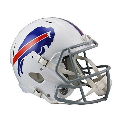 Riddell NFL Buffalo Bills Full Size Replica Speed Helmet, Medium, Red -