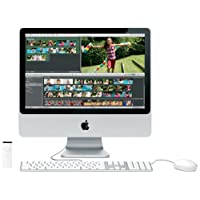 Apple MA876 iMac 50,8 cm (20 Zoll) Desktop-PC (Intel Core 2 Duo 2,0 GHz, 1GB RAM, 250 GB HDD, DVD+- DL RW, ATI Radeon HD 2400 XT)